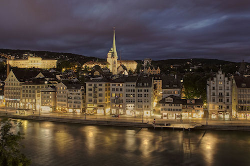 Ciudades con vista nocturna (10 postales para compartir)