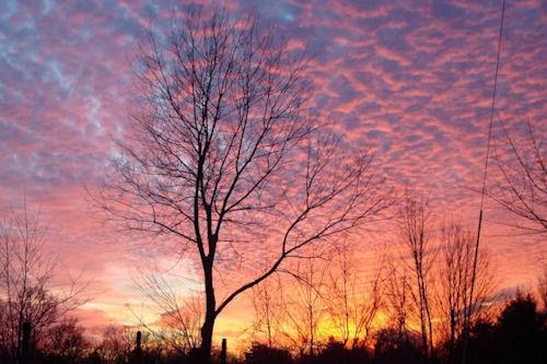 Del crepúsculo al amanecer (10 postales con el sol)