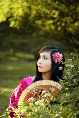 Retratos de mujeres hermosas I (Lindas como las flores)