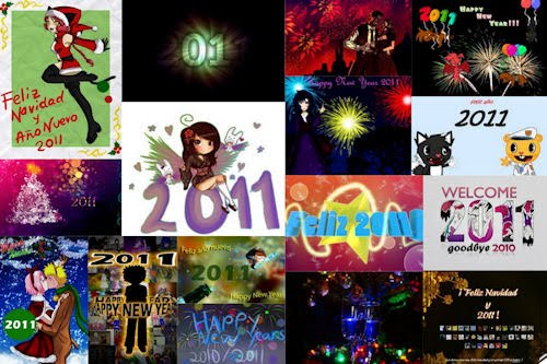 Nueva colección de imágenes Año Nuevo 2011 (mensajes)