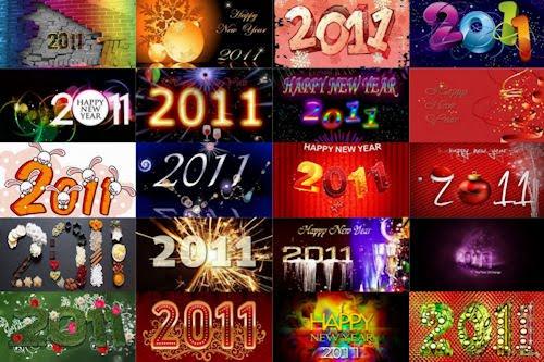 20 wallpapers para el Año Nuevo 2011 (Parte IV)
