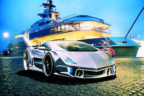 Tributo a  Ferruccio Lamborghini I (Colección de Autos)