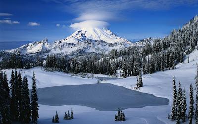 Fotografías de volcanes, montañas, nevados y paisajes con nieve