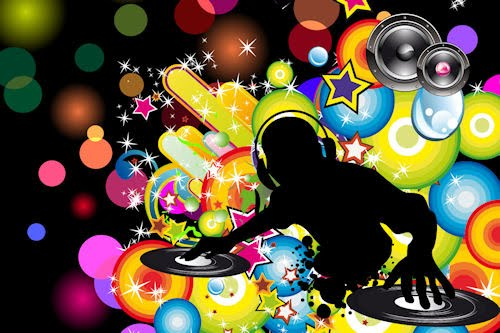 Wallpapers de msica disco II (Imgenes de Colores)