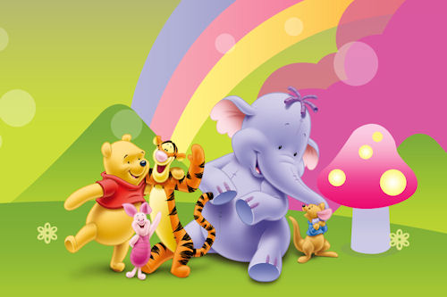 Banco de Imagenes Gratis .Com: Wallpapers de Winnie Pooh by Disney ...