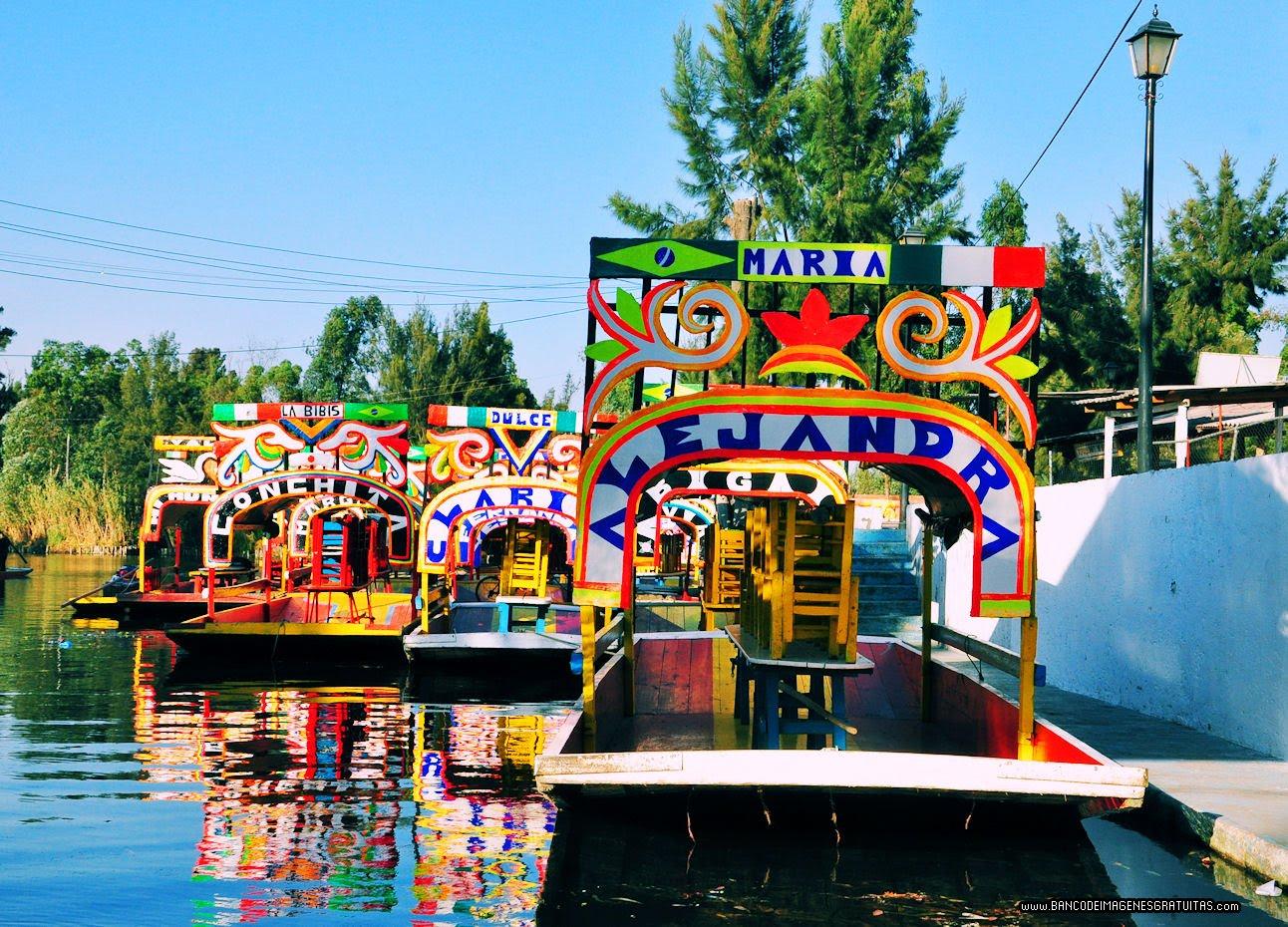 Banco de im genes im genes y fotograf as de xochimilco for Jardin xochimilco