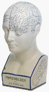 A Phrenology bust