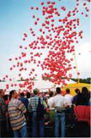 a mass balloon release