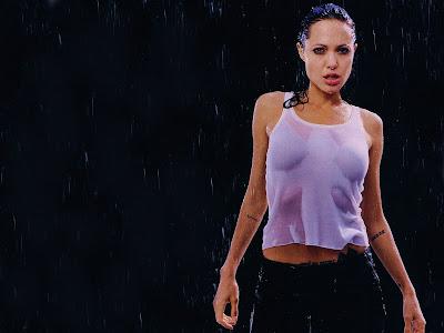 hot model wallpaper. Angelina Jolie Female Models