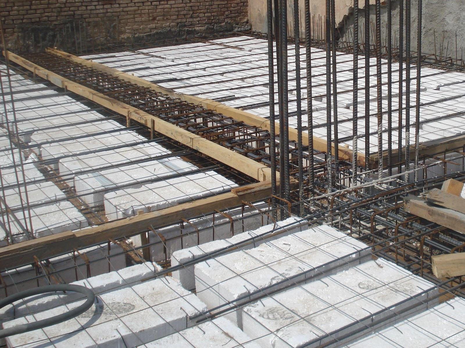 Edificio cerbell losa sobre cocheras for Losas de pared