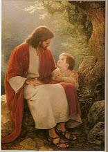Jesus ama as  crianças.... devemos ser como elas!