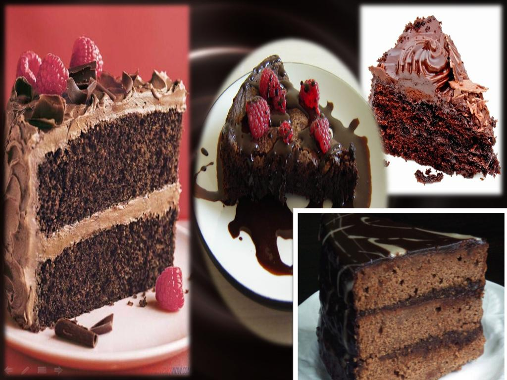 World of Chocolates: Chocolate Cake