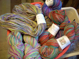 Newly Dyed BFL Yarn