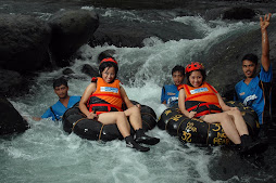 Enjoy White Water Tubing
