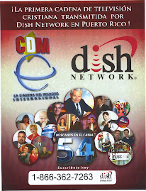 Programa Palabra, Gloria y Poder, ahora en Puerto Rico tambin por Dish Network en el canal 54.