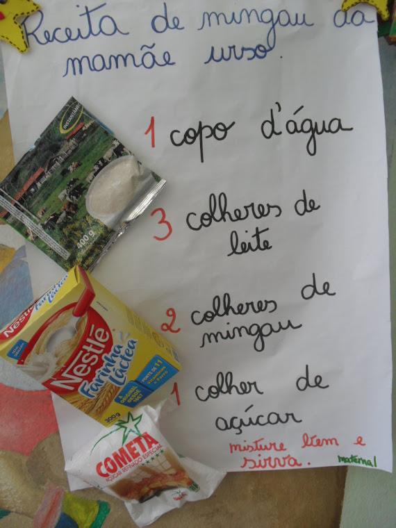 Confecção de cartaz