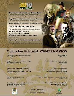 PRESENTACION EDITORIAL COLECCION CENTENARIOS
