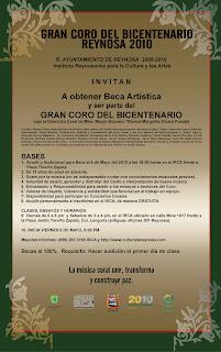 GRAN CORO DEL BICENTENARIO REYNOSA 2010