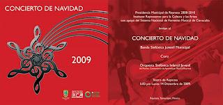 INVITACION CONCIERTO DE NAVIDAD