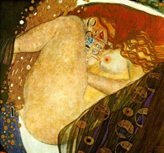 José María Fonollosa · Breve reseña biográfica y doce poemas Gustav+Klimt+%E2%80%93+Danae+(1907
