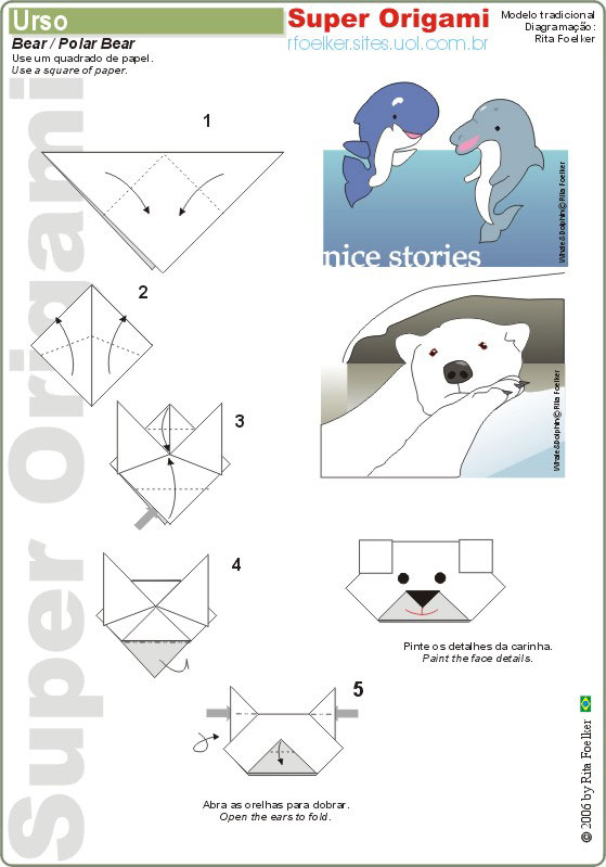 similiar polar bear den diagram keywords image polar bear origami diagram pc android iphone and ipad