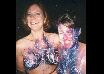 Fantasy Fest Body Paint