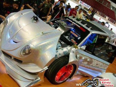 Super Extreme Custom Modification of PERODUA KANCIL (Malaysia Car)