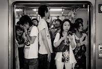 Una mañana más en el Metro