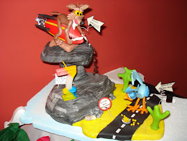 Centro de torta con sorpresa