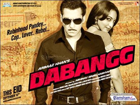 Dabangg (2010), Dabangg 2 (2012) Dabangg-salman-khan-sonakshi-sinha