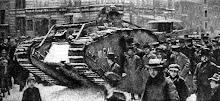 Tank in Berlijn
