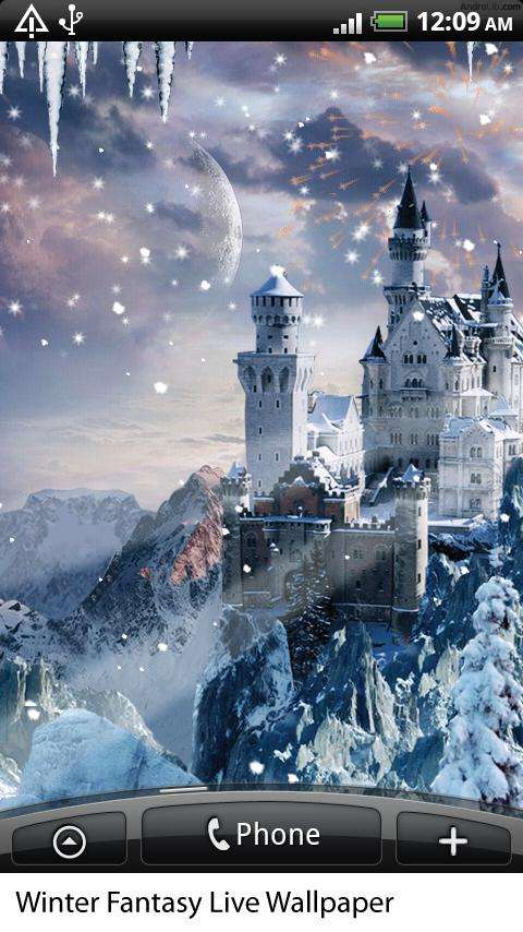 Winter Fantasy Live Wallpaper v1.03