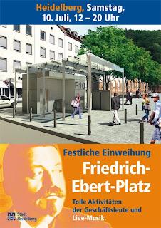 Heidelberg, Altstadt, Friedrich-Ebert-Platz