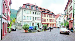 Heidelberg, Altstadt, Untere Strasse, Lärm Dreck, Randale, Heumarkt, Pissoir, Wildpinkeln, Dehoga