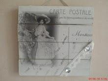 Jag fick den här härliga tavlan från Christa och Pia från Angels & Dreams