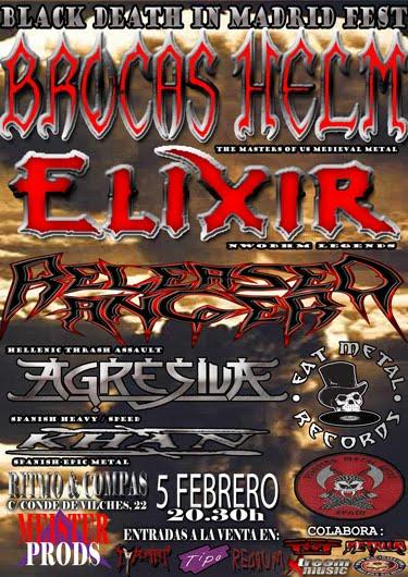 heavy metal fire black death in madrid festival. Black Bedroom Furniture Sets. Home Design Ideas