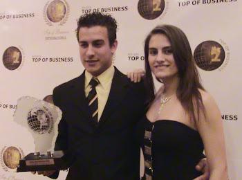 TOP OF BUSINESS 2010: Escola recebe prêmio pelo trabalho!