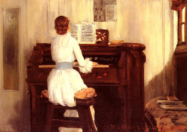 Música y pintura Mrs._meigs_at_the_piano_organ-large++William+Merritt+Chase