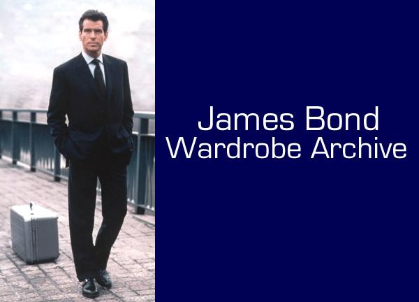James Bond Wardrobe Archive