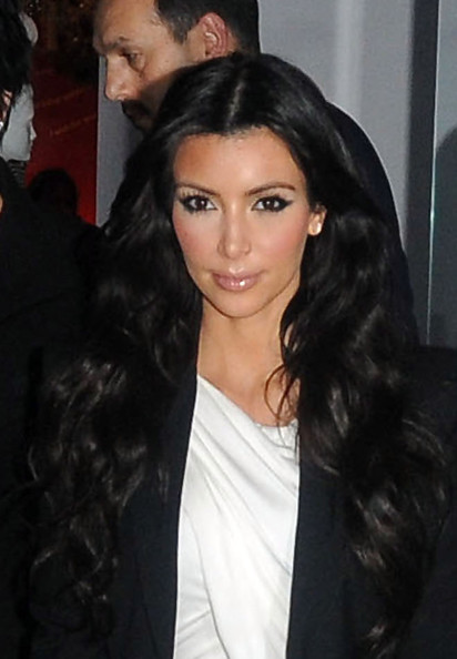 kim kardashian hairstyles for long hair. kim kardashian hairstyles for