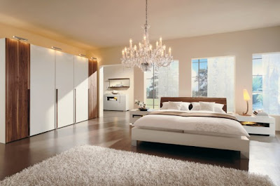 Warm Bedroom Interior Decorating Ideas by Huelsta Int