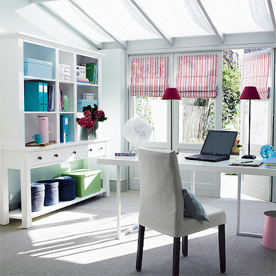 Site Blogspot  Office Decorating Ideas on Modern Home Office Furniture And Decorating Ideas   Interior Design