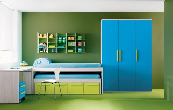 beautiful kids room design is all about smart positioning of furniture