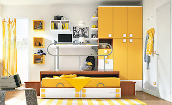 #9 Yellow Bedroom Design Ideas