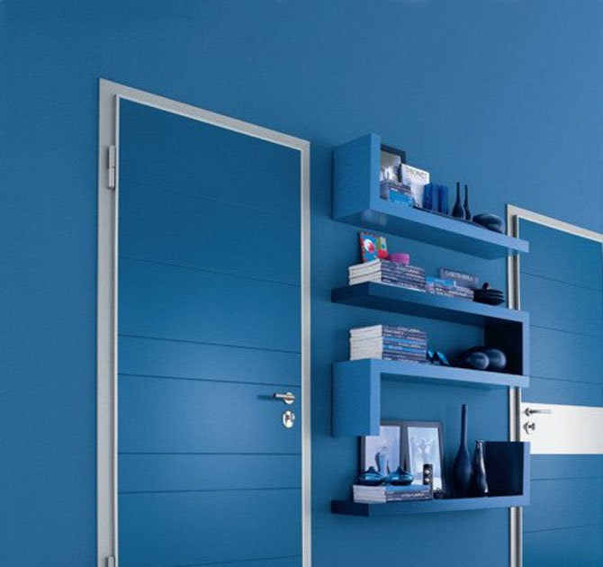 Modern contemporary doors home interior design home office decoration home office decorating - Home office door ideas ...