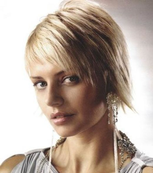 punk short hairstyle. girls short hairstyle.