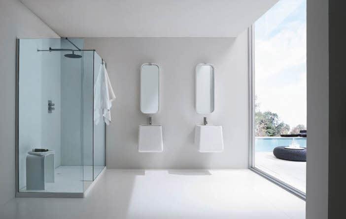 Modern minimalist bathroom design ideas from rexa for Modern minimalist bathroom