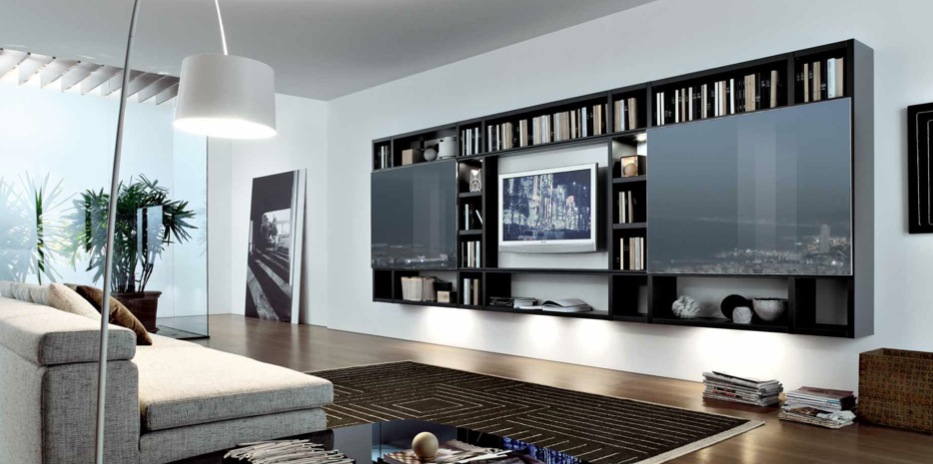 Modern minimalist living room design from misuraemme for Minimalist living room ideas