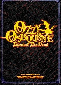 Ozzy Osbourne – Speak Of The Devil 1982 – Live Concert – CD y DVD