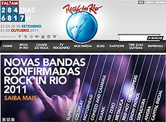 Slipknot, Metallica, Motorhead o Coldplay al Rock in Rio 2011
